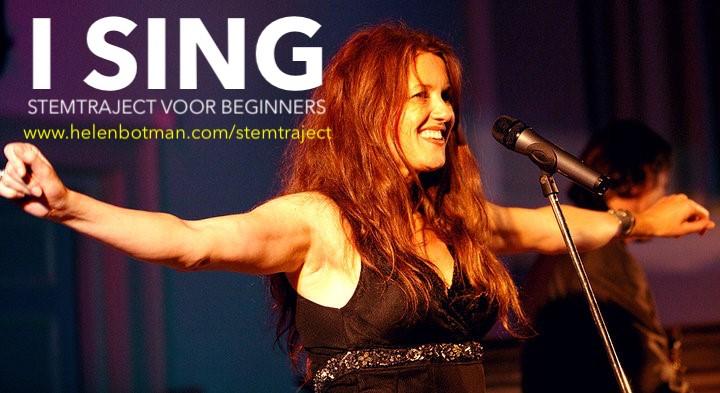 Start Stemtraject 'I SING'